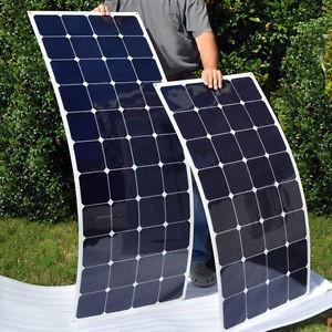 Kit 300 Células Solares (Flexível) Monocristalina 1000w + Tab 22% A +efic.